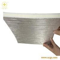 aluminum foil faced backed soundproof epe foam insulation