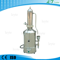 LT -10 portable stainless steel water distiller for laboratory use