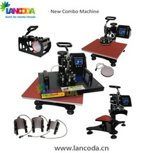 2016 NEW 8 in 1 T-shirt mug plate cap heat press sublimation machine