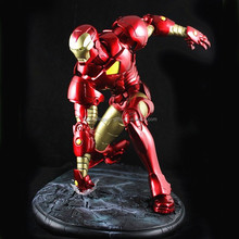 High quality hand paint Iron Man resin figure