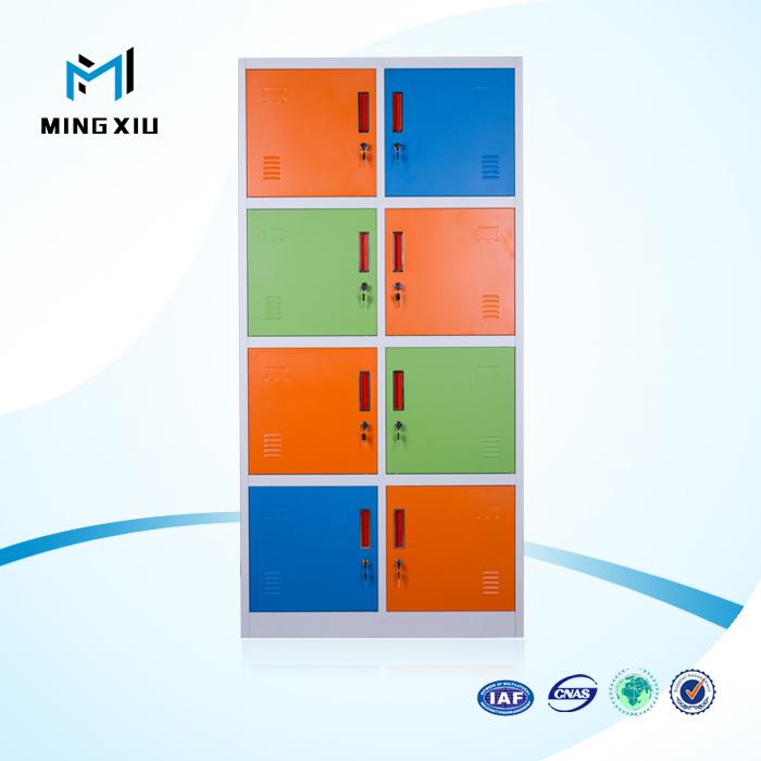 Luoyang Manufacturer Low Price 8 Door Colorful Metal U003cstrongu003esportsu003c/strongu003e