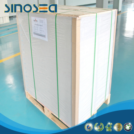 China Supplier White Coated Grey Back Carton Duplex Paper Board in sheets