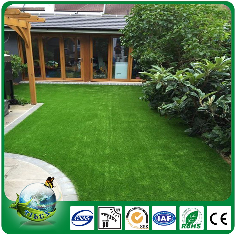 China soft skin-friendly synthetic lawn yard for landscaping
