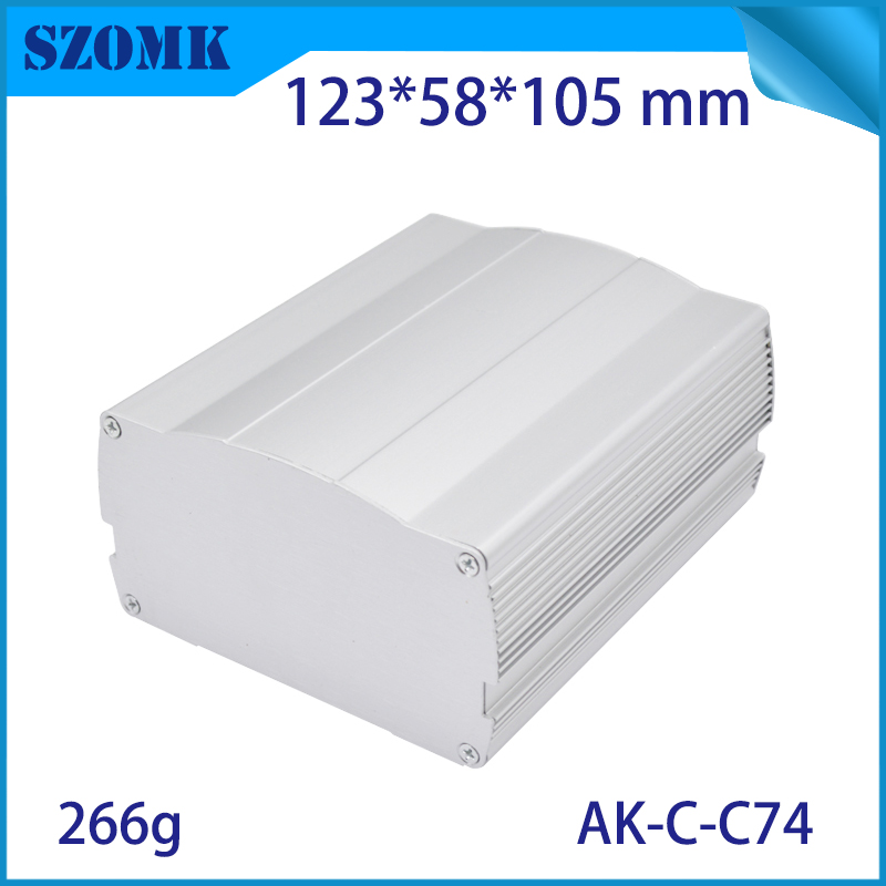new design aluminum electornic junction distribution power supply enclosure from szomk