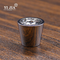 Cylindrical Shape Furniture Door Lock kitchen cabinet handle glass Knob