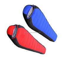 adult camping washable Down Shark shape Sleeping Bags