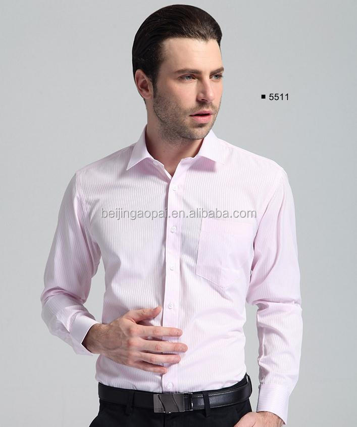 Custom non iron tailoring latest formal shirt designs for men