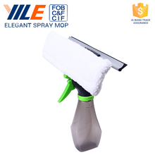YILE Brand Household Handheld Multi Function 3 IN 1 Spray Window Glass Squeegee