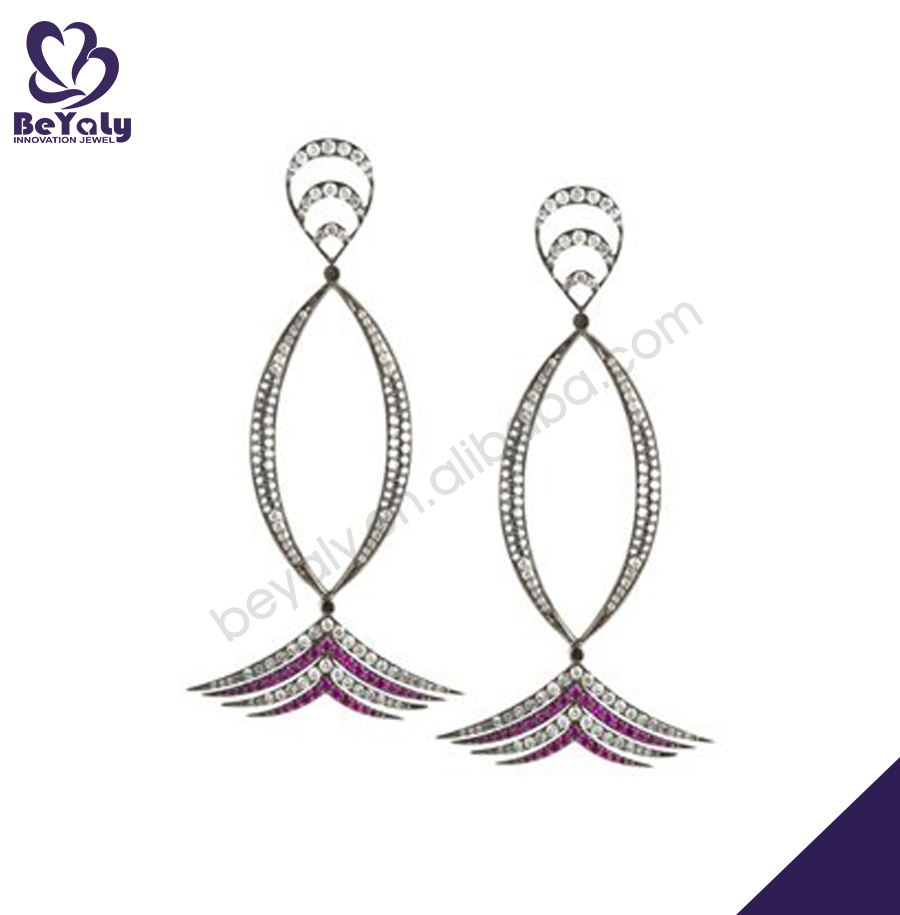 Decent new fashion fish design jewelry earings exotic