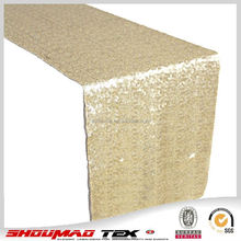 Wholesale high quality metal sequin table runner