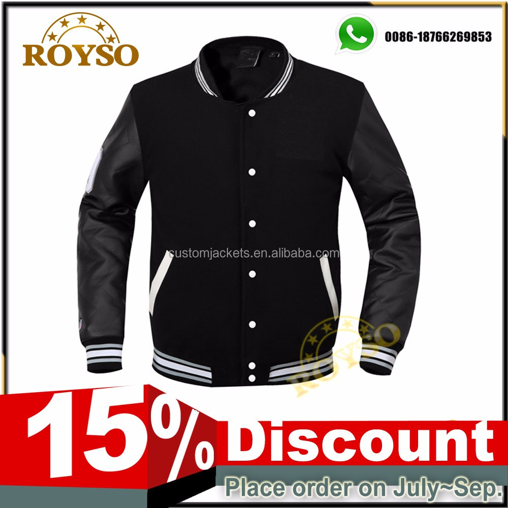 Custom College Style /Wool Girls Baseball Varsity Jacket American Pattern Hoody Ladies Jackets with Hood Wholesale Cheap Price
