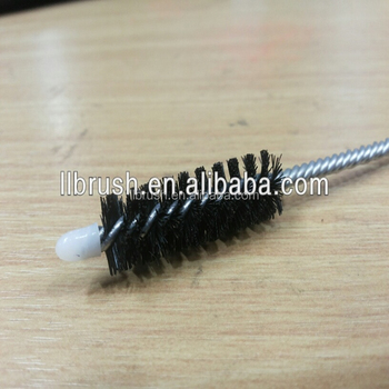 nylon hair tube brush bottle brush hand cleaner tool