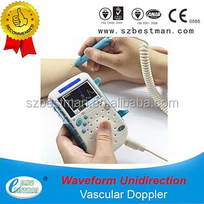 hot sale Handheld Vascular Doppler Blood Flow Detector 8.0MH