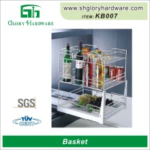 Garage Storage Metal Chinese Products Wholesale Three Tier Fruit Basket