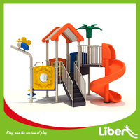 Slide Games Entertainment Children Amusement Park Nature Used Playground Slides for Sale