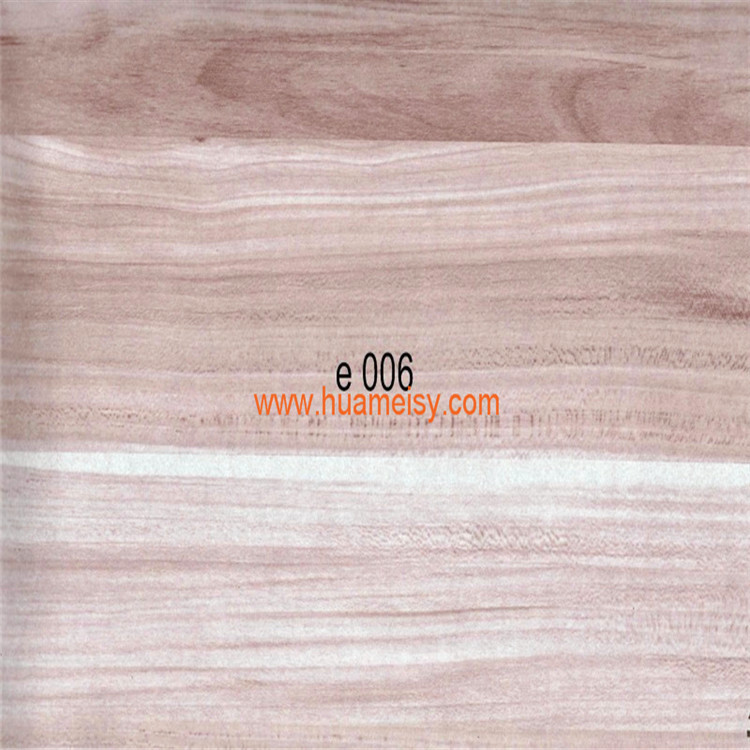2015 new patterns wood effect transfer film for aluminum profiles decoration