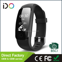 2015 wireless OLED screen smart bluetooth bracelet watch for Android and ios smartphone with waterproof