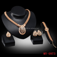 Europe and the United States selling diamond necklace earring spider mask four pieces