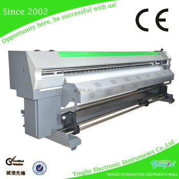 2015 hot sale!!!! hight quality dual head 3.2m tarpaulin printer