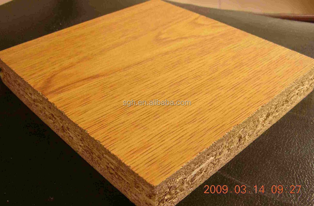 Particleboard and chipboard is an engineered wood product
