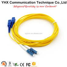 SC/UPC to SC/UPC Single Mode Fiber Optic Patch Cord