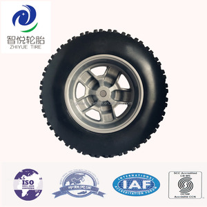 250mm plastic wheels kayak sand cart wheels