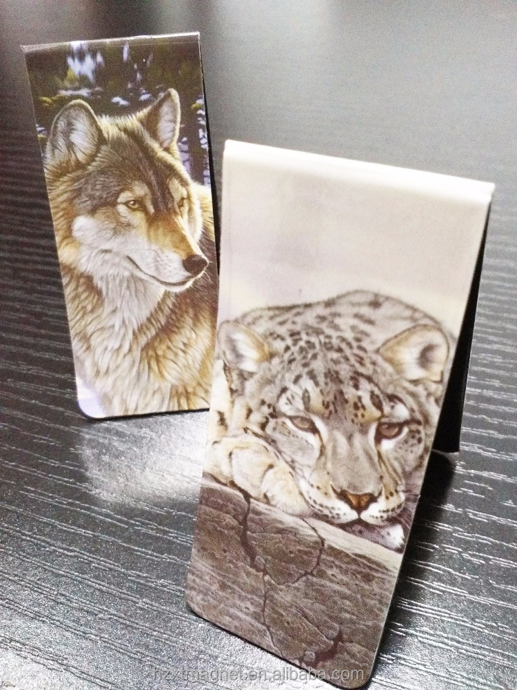 paper refrigerator magnets tiger animal fridge magnets wholesale souvenirs