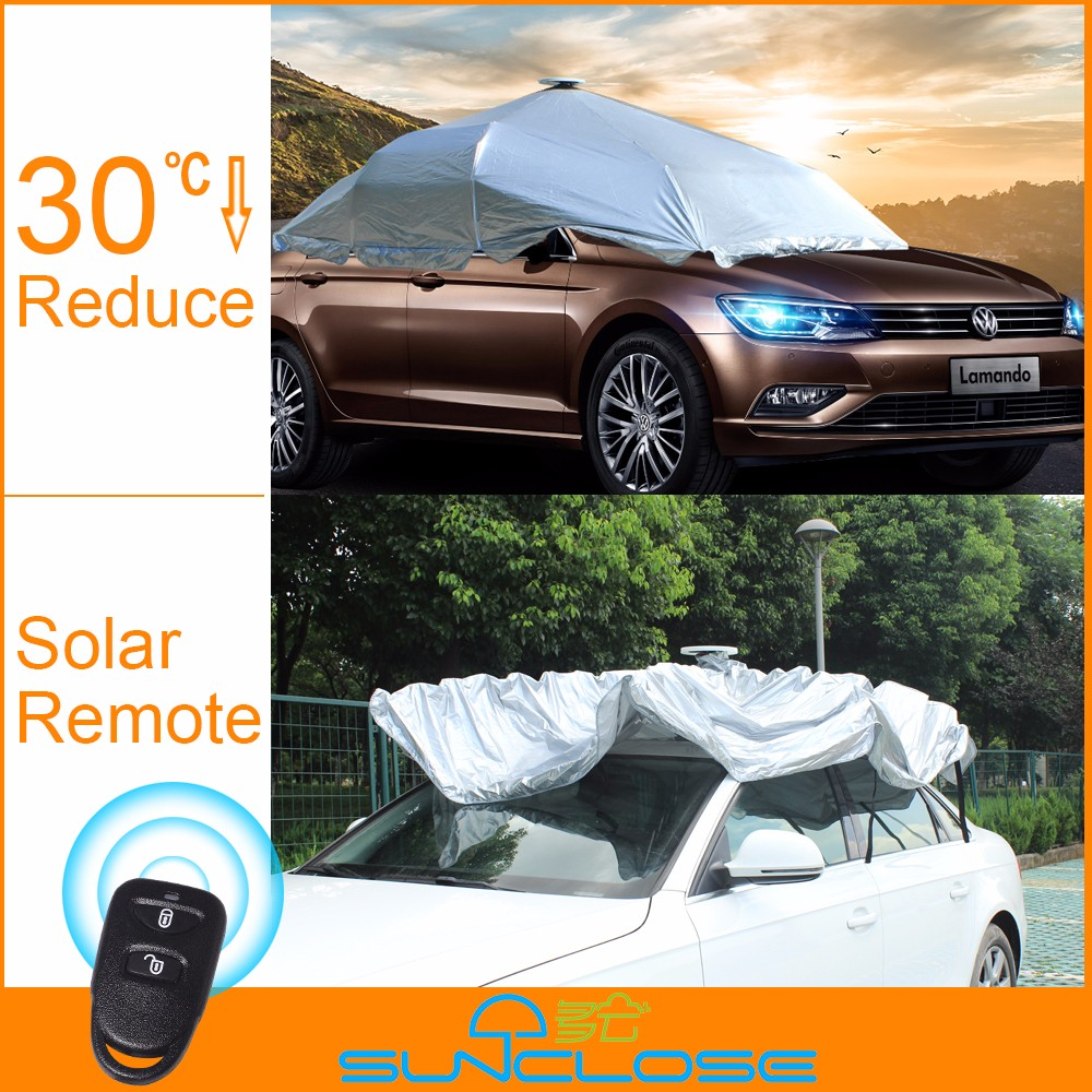 SUNCLOSE wonderful anti scratch peva pp cotton car cover car body cover awning materialauto cover