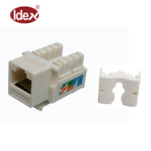 cat6/cat5e keystone jack cheap price rj45 cat6 wall jack male utp rj45 keystone jack rj45