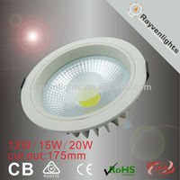 Australia Standard 120degree Round 20w LED down light with Dimmable ,Two year warranty