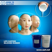 silicone rubber skin liquid for full body sex doll