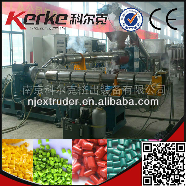 wholesale china trade pe two stage granule pelletiizng line