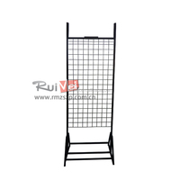 Floor Standing Cell Phone Accessory Mesh Display Rack