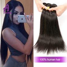 Tangle Free Shedding Free Human Hair Brazilian Straight Remy Hair Extension