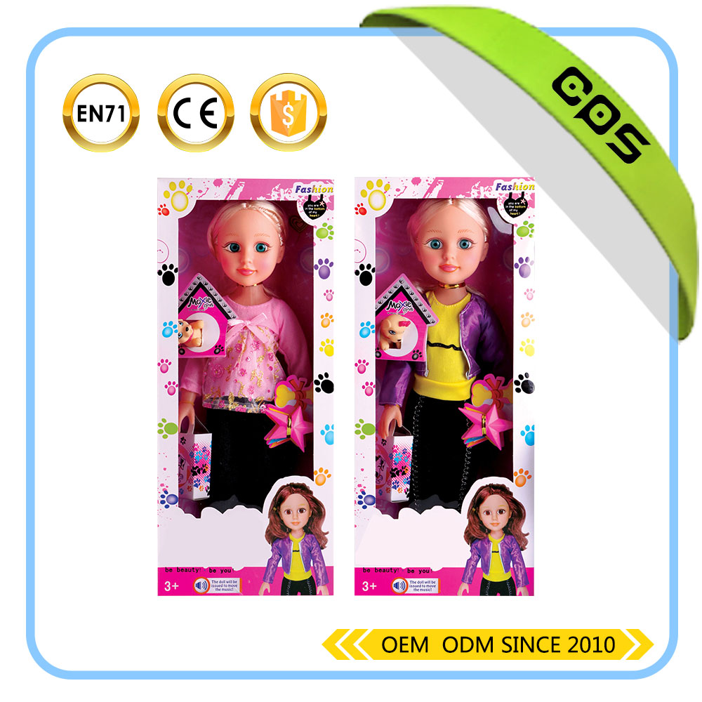 16 inch beautiful and fashion doll for kids