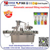 YB-P8 Automatic Aerosol Can Filling Machine or Paint Spray Filling Machine