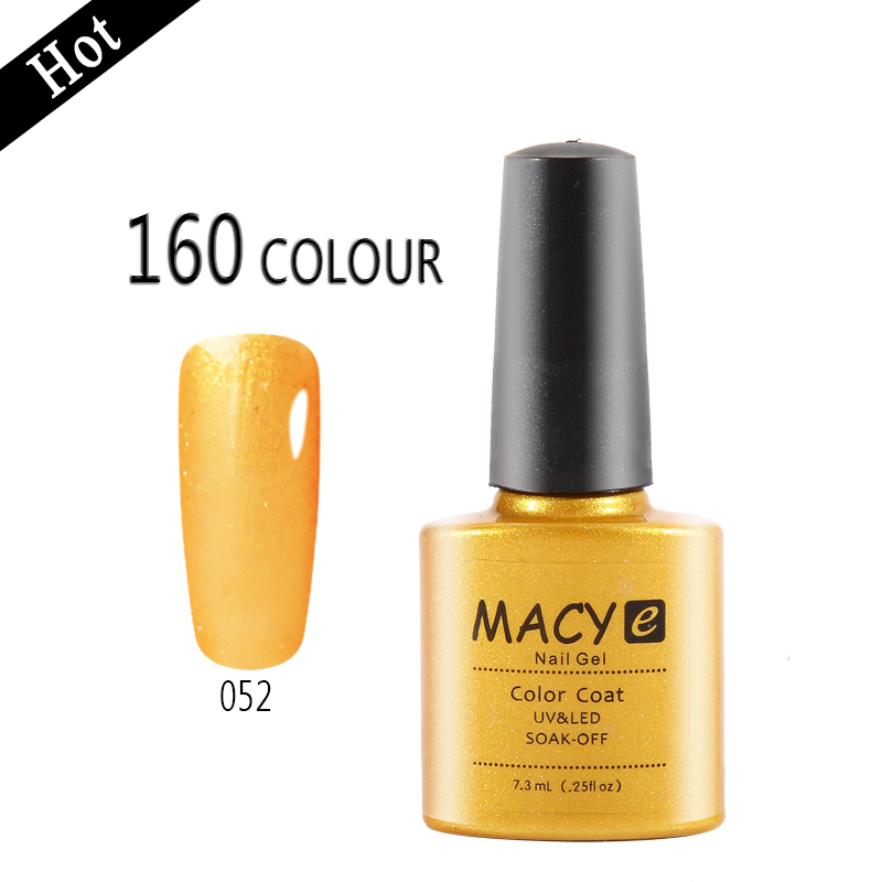 MACY wholesale makeup nail polish uv <strong>gel</strong>, german nail <strong>gel</strong> 153 colors 7.3 ml good quality