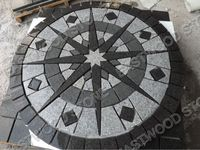 mesh back pavers stone