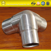 Precision Casting Stainless Steel Customized Three-Way Glass Clamp Fittings