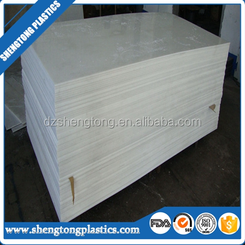 100% pure material 4*8' UHMWPE engineering plastic board,wear resistant board