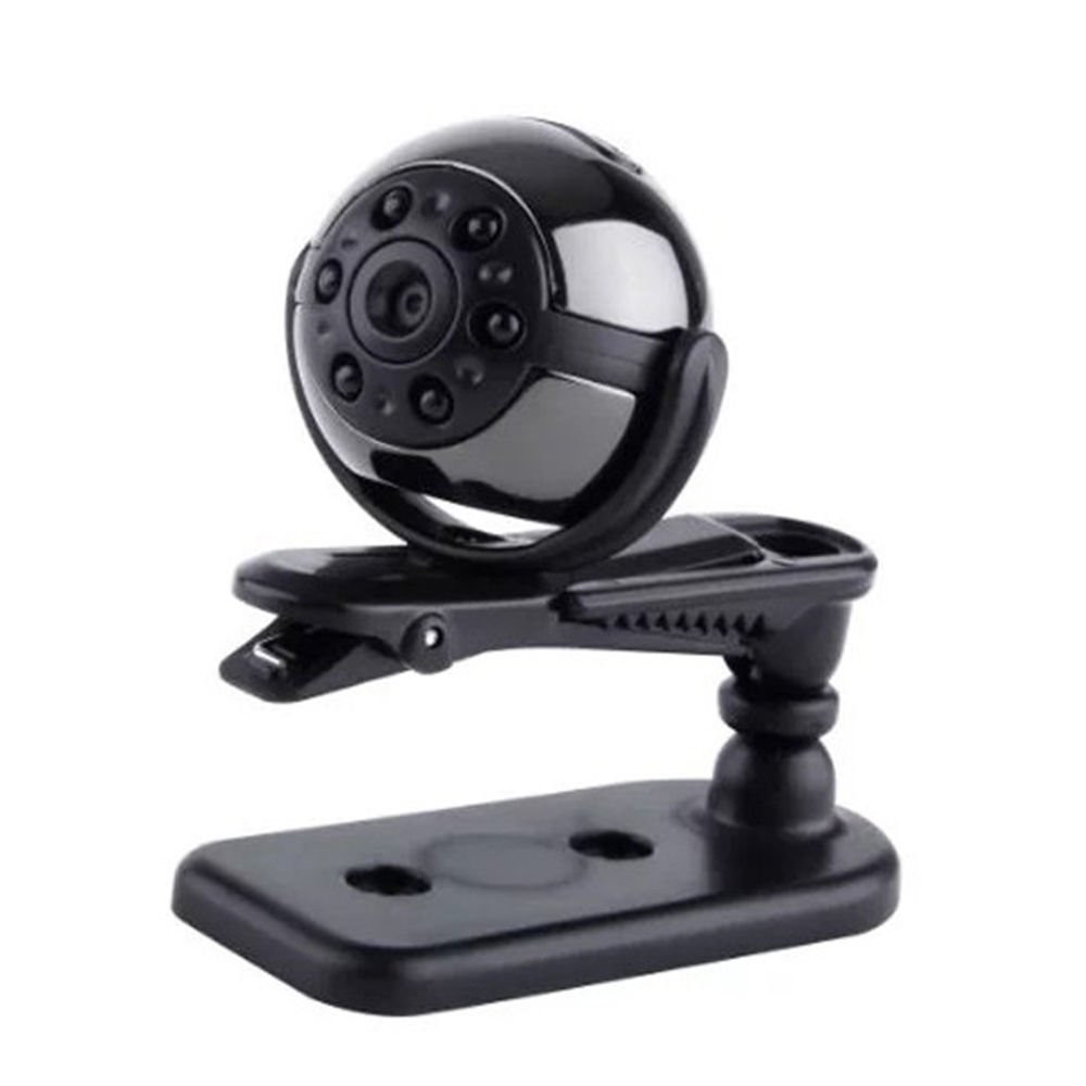 1080P Infrared Night Vision Mini DV 360 Degree Rotation Spy Hidden Camera Voice Video Recorder Car DVR Home Security PQ191