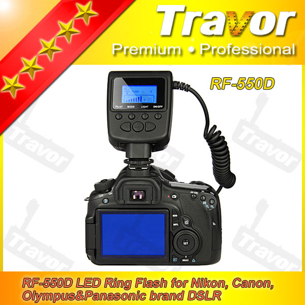 ring flash camera flash manufacture factory price for panasonic digital camera spare parts