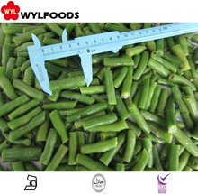 HOT SALE!IQF Frozen green bean cuts Market prices Best Quality