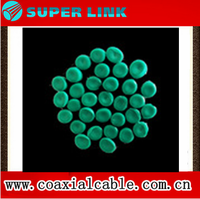recycled J-90 green cold resistant PVC granules & recycled insulating cable compound