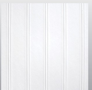 StructoDecor Beaded FRP Cotton White (1130) Wall Panels