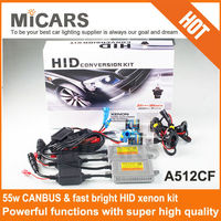 2015 Hot selling H1 H3 H7 H13 H4 hid headlight AC A512X A512FC S512FC canbus fast bright HID xenon kit
