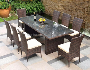 garden rattan chair wicker dining sets outdoor rattan sofa sets