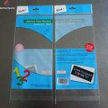 Customized self adhesive seal header card opp bag for arts crafts peripheral products packaging