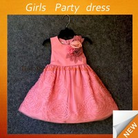 2014 new model cotton kids girls evening dresses for girls party dress for girls party dresses 2-8 years Lyd-979