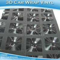 SINO CAR STICKER 1.52*30M 5*98FT Air Bubble Free Color Change Auto Vinyl 3D Car Body Cover Wrapping Film